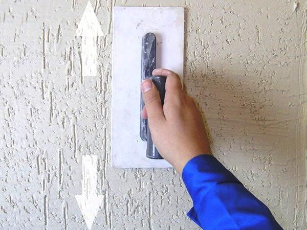 Фасадная шпаклевка короед видео